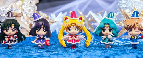 Sailor Moon Outer Senshi Petit Chara Christmas Special Set 2
