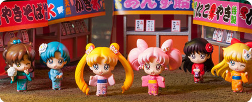 Sailor Moon Petit Chara Festival Set