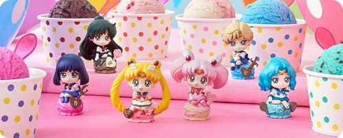 Sailor Moon Petit Chara Ice Cream Box Set