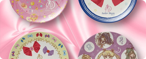 Sailor Moon Melamine Plates