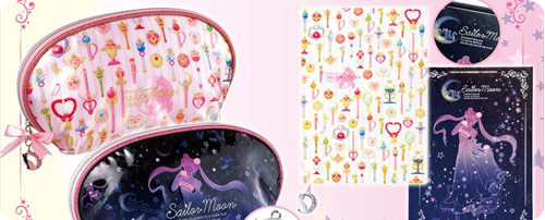Sailor Moon Pouches & Notebooks