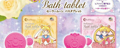 Sailor Moon Primrose Oil Scented Bath Tablets