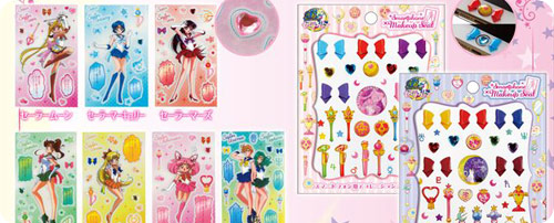 Sailor Moon Prism Sticker Sheet & Smartphone Make-up Seal