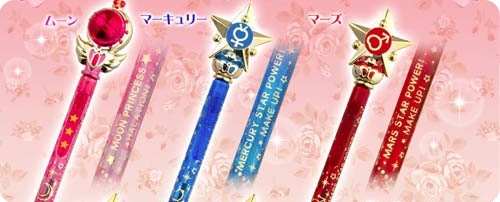 Sailor Moon 'R' Wand Pens