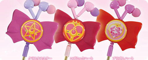 Sailor Moon Reel Type Stereo Earphones