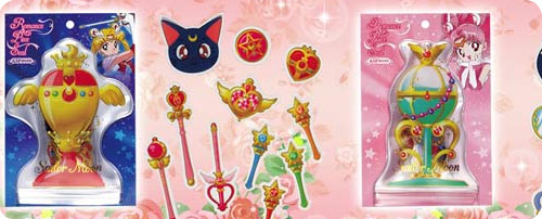 Sailor Moon Sticker Flakes in Pouch