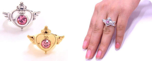 Sailor Moon SuperS Brooch Design Ring Silver925 (Gold or Silver)