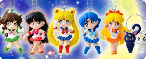 Sailor Moon Swing Full Set of 6