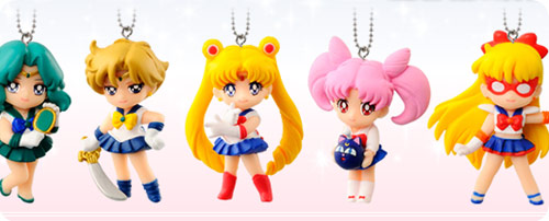 Sailor Moon Swing Full Set of 5 -  SET 2
