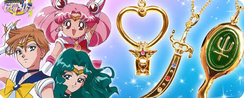 Sailor Moon Preminum Bandai Tasliman Necklace