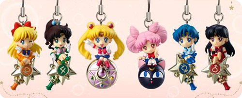 Sailor Moon Twinkle Dolly Candy Toys Set