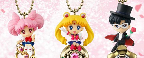 Sailor Moon Twinkle Dolly Special Set (Sailor Moon, Chibiusa and Tuxedo Mask)