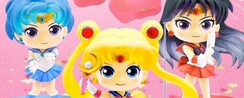 NEW Limited Sailor Moon Crystal Mini Clear File 1 Set//3 pcs Vertical Design