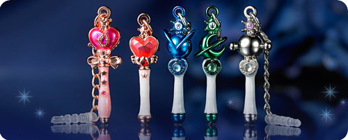 Sailor Moon (Outer Senshi) Wand Charms (Set 2)