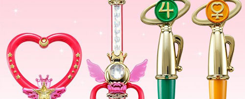 Sailor Moon Wands Miniaturely Tablet Set 7
