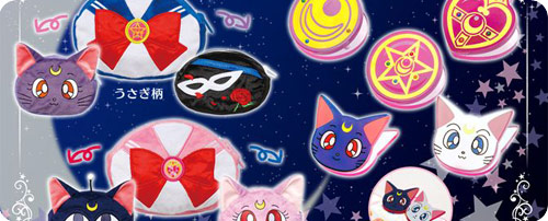 Sailor Moon Reversible Zipper Pouch & Die-Cut Clips