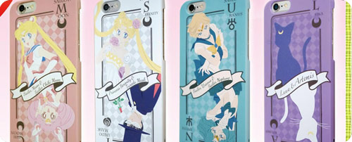 Sailor Moon iPhone6 and 6 plus Card Cases