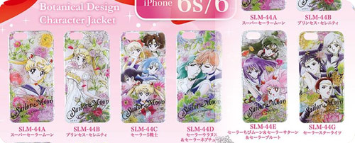 Sailor Moon iPhone6/6s Botanical Design Cases