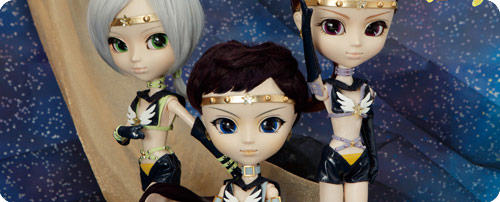 Sailor Starlights Pullip Doll - Fighter, Maker & Healer