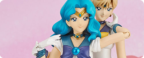 Sailor Uranus and Sailor Neptune: S.H.Figuarts Action Figure