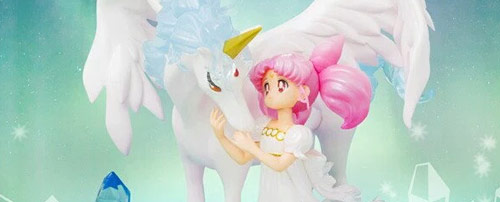 Princess Small Lady (Chibiusa) and Helios (Pegasus) Figuarts Zero chouette
