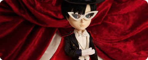 Tuxedo Kamen Taeyang (Male version Pullip) Doll