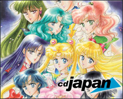 Buy Sailor Moon products from CDJapan