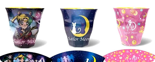 Sailor Moon Melamine Cups