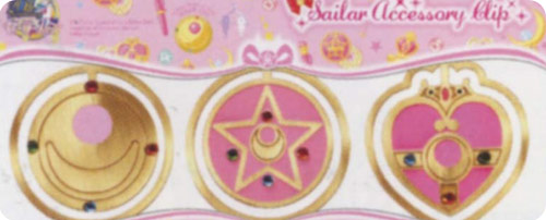 Sailor Moon Accessory Clip Set