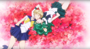 Sailor Moon Crystal Season 3 - Sailor Uranus & Neptune lesbian love